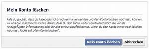 Amazon Mein Konto Rechnung : facebook l schen so l schen sie ihr facebook konto ~ Themetempest.com Abrechnung
