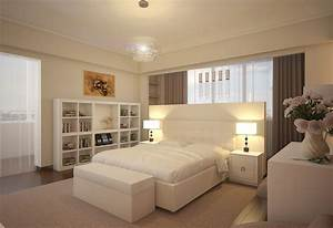 White bedroom design chandelier library modern olpos