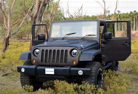 mahindra jeep thar 2017 mahindra thar to jeep wrangler conversion by jeep studio