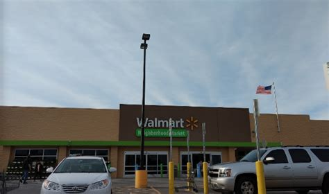 walmart supermarket  yukon oklahoma  usa yellow
