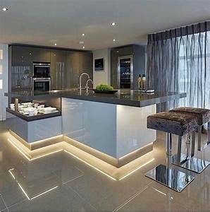 6, X, Modern, Kitchen, Island, Design, Ideas