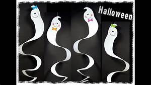 Basteln Halloween Mit Kindern : lustige gespenster zu halloween basteln mit kindern youtube ~ Yasmunasinghe.com Haus und Dekorationen
