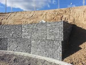 Mur De Soutenement En Gabion : les pierres gabion pr rempli transportable naturpiedra ~ Melissatoandfro.com Idées de Décoration