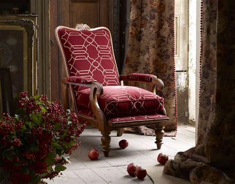 gothic decor  fabrics