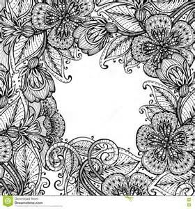 Fancy Black Flower Backgrounds