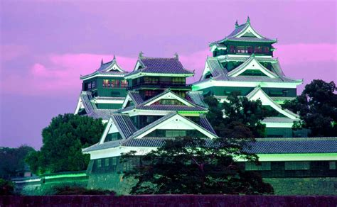 fondo escritorio paisaje castillo japones