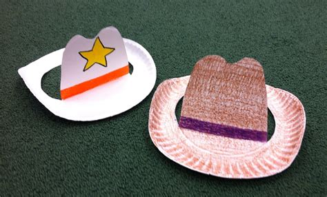 src 2015 paper plate cowboy hat craft my library crafts 820 | dbf2c468c1e672b997ff2c44994af156
