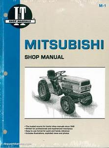 Mitsubishi Mt160  U2013 Mt180 Compact Tractor Operators Manual