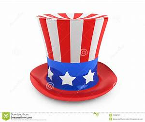 American Independence Day Hat Stock Illustration - Image ...