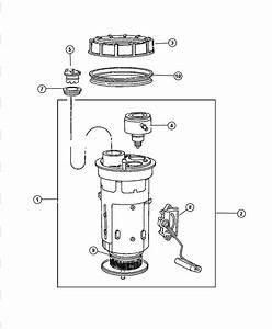 Module Kit Fuel Pump Genuine Mopar 04897667af Durango And