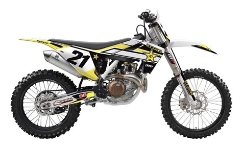 Husqvarna Fc 350 4k Wallpapers by Factory Effex Complete Rockstar Graphics Kit Husqvarna Tc