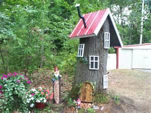 gnome house outside garden