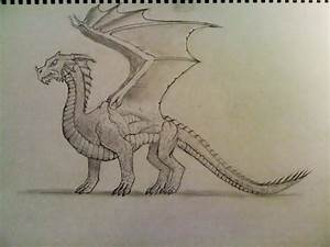 First Attempt at Drawing a Dragon by The-Barinade on ...