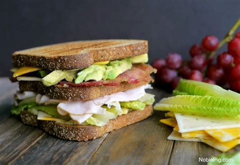ultimate manly picnic sandwich noble pig