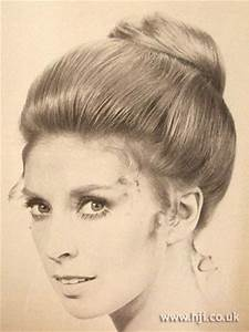 1950s updo | 60's hairstyles | Crowning Glory | Pinterest