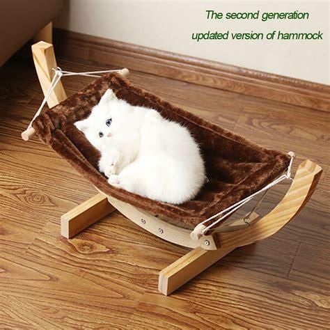 canape designer diy cat hammock cardboard box