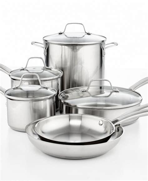 macys  pieces calphalon classic stainless steel cookware set   reg