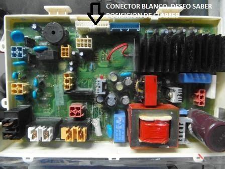 solucionado lavadora lg wd 14317rd conexion de cables en tarjeta yoreparo