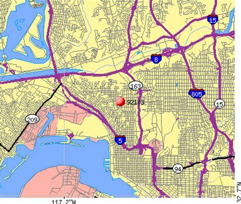 offenders san diego map 92103 zip code san diego california profile homes