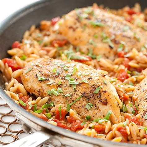 cook country kitchen recipes skillet italian chicken with orzo cook s country 5758