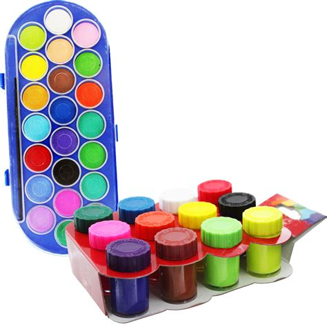 Kids Watercolour And Poster Paint Value Pack  Watercolour. Stone Tile Kitchen. Kitchen Color Ideas With Light Wood Cabinets. Kitchen Island Target. Kitchen Small Island. Cheap Kitchen Tile Backsplash. Pictures Of Ceramic Tile Backsplashes In Kitchens. Kitchen Island Heights. Kitchen Island With Drop Leaf