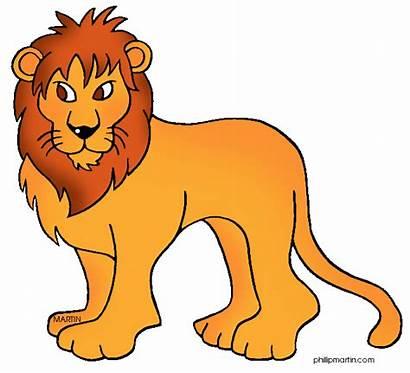 Clipart Lion Clip Animals Lions Club Panda