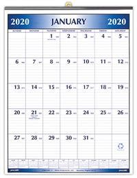 magnetized calendar    inches