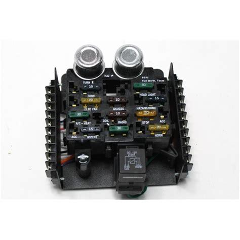 painless 12 circuit wiring diagram painless fuse block garage sale painless wiring 30001 universal 12 circuit fuse block