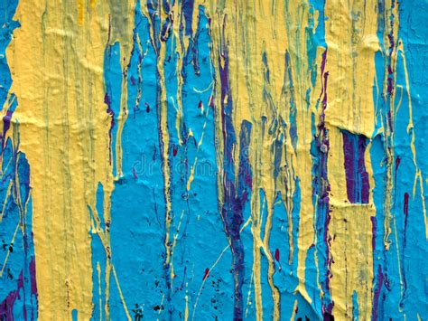 Abstract Paint Drip Background Texture Stock Photo Image