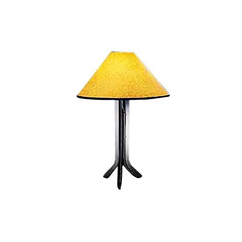 paper shade table l wrought iron table l contemporary with amber paper