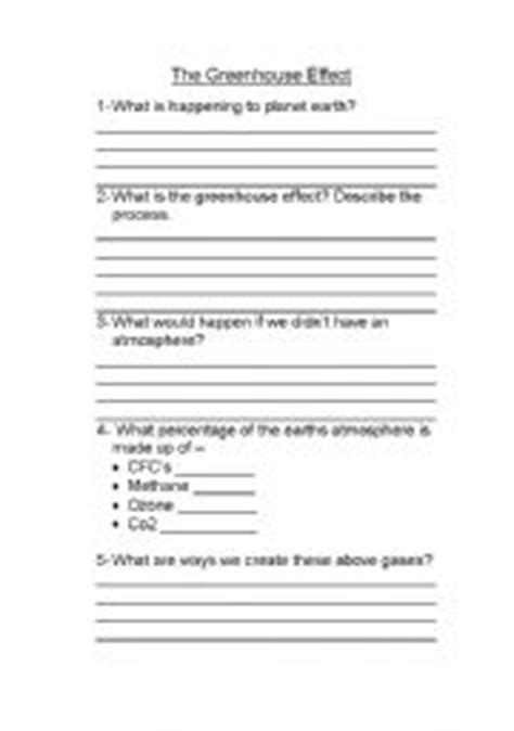 English Teaching Worksheets Climate Change