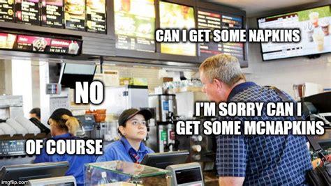 Cashier Memes - confused mcdonalds cashier imgflip