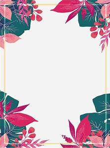 pink summer plant border vector png pink flowers summer