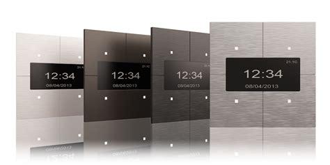 tense infinity aluminium knx switches home panel home
