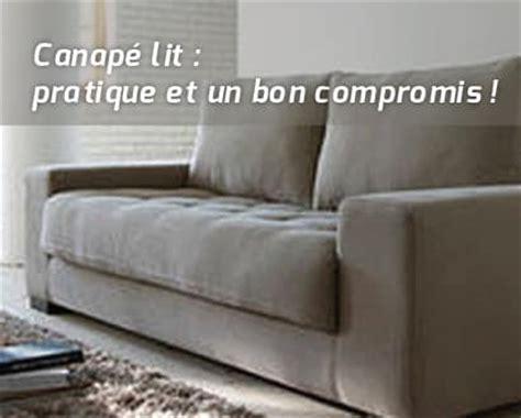 bon canapé lit canapé lit un bon compromis topdeco pro