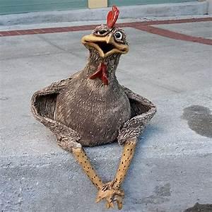Hühner Aus Beton : mazi character chicken sitting cp461 sold h ner ~ Articles-book.com Haus und Dekorationen