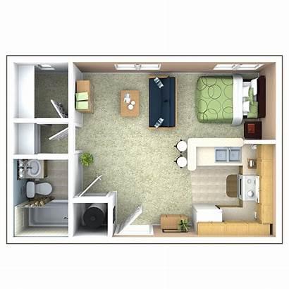 Floor Studio Plans Apartments Bedroom Plan Indianapolis