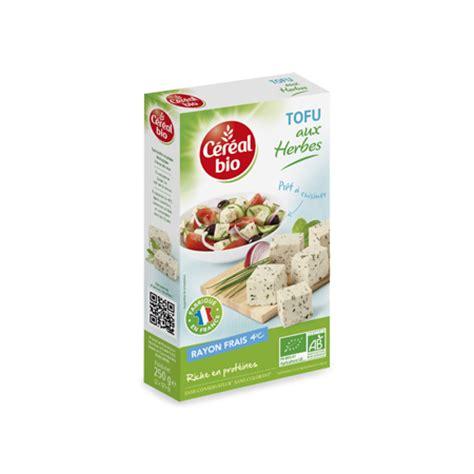 cuisiner tofu nature tofu aux herbes céréal