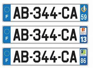 Acheter Plaque Immatriculation : plaques d 39 immatriculation les d partements gardent leur num ro lib ration ~ Gottalentnigeria.com Avis de Voitures
