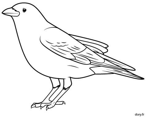 dessiner un plan de cuisine dessin à imprimer un corbeau dory fr coloriages