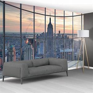 Empire State Building Window Feature Wallpaper Mural 8 Piece