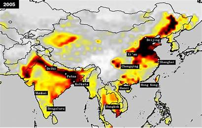 Pollution India Asia Air China Most Polluted