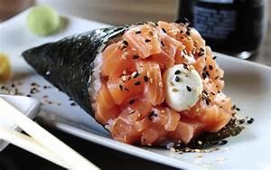 Temaki de salmón | Demos la vuelta al día