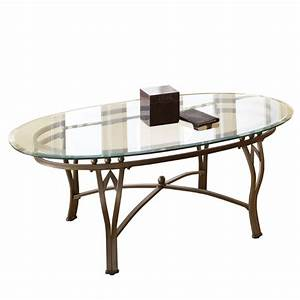 steve silver madrid oval glass top coffee table in With pewter glass coffee table