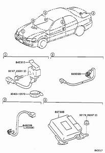 Toyota Camry Under Hood Light Switch  Switch  Courtesy