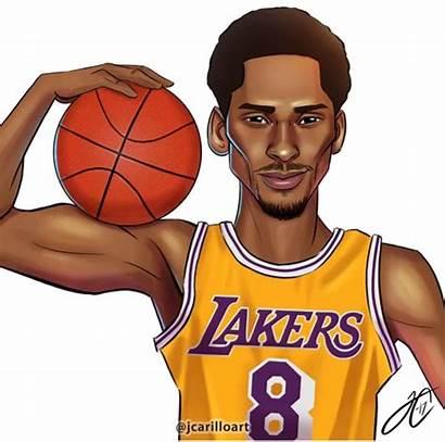 Nba Basketball Kobe Bryant Drawing Lebron James