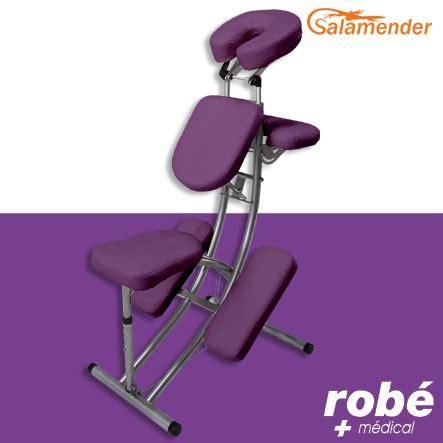chaise médicalisée chaise de pliante ergonomique s225 prune