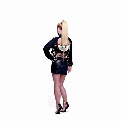 Britney Spears Turning Around Modeling Scream Shout