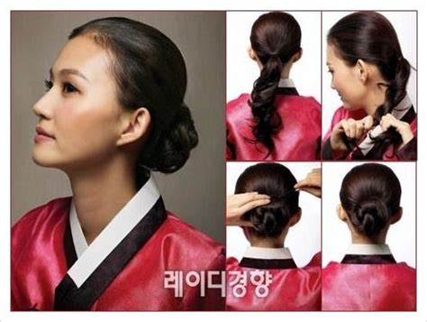 hair styling  holiday hanbok fashion  neck