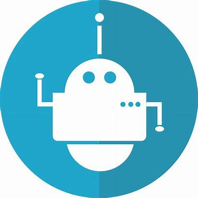 Bot Icon Robot Automated Pixabay Cyborg Vector